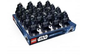 Lego Набор брелков-фонариков Звёздные войны Дарт Вейдер с батарейкой