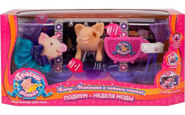 свинка в чашке игрушка купить в спб