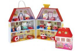 Игровой набор Hello Kitty - Картонный домик Китти