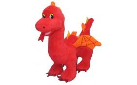 Мягкая игрушка Lava Дракон красный