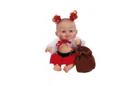 Новогодний младенец европейка Paola Reina - 22 см