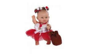 Новогодний младенец Paola Reina брюнетка - 22 см