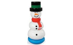 Пирамидка-Снеговик Melissa & Doug