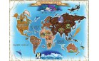 """Картонные пазлы Melissa & Doug """"Карта мира"""""""