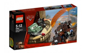 Побег агента Мэтра Lego Cars 2