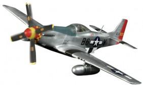 Самолёт США 1:72 P-51D MUSTANG