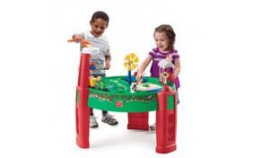 """Столик для игры с водой и песком """"Веселая ферма"""" Step2"""