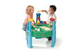 """Столик для игры с водой и песком """"Погрузочная станция"""" Step2"""