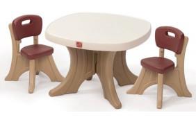 Столик со стульями Step2