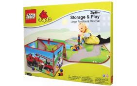 Большое 2-стороннее игровое поле-бокс Neat-Oh LEGO DUPLO ZipBin