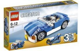 Голубой родстер Lego Creator