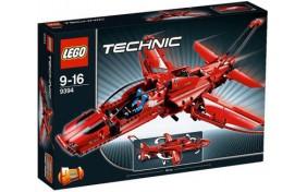 Реактивный самолет Lego Technic