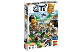 """Настольная игра """"Переполох в LEGO городе"""" Lego City"""