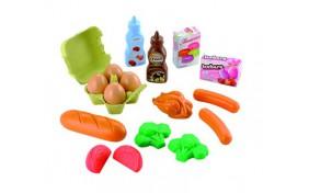 Набор продуктов Smoby Ecoiffier в сетке