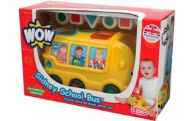 """Игровой набор WOW """"Сидни - школьный автобус"""""""