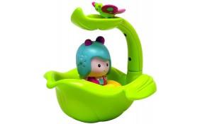 Интерактивная игрушка для игры в ванной - Мими и волшебная лодка-листочек Ouaps
