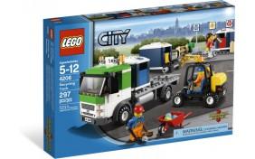 Перевозчик вторсырья Lego City