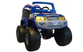 Джип Off-Roader 4х4 Jet Runner - синий
