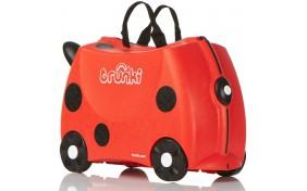 Детский дорожный чемоданчик TRUNKI HARLEY LADYBUG