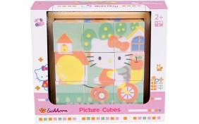 Деревянные кубики Hello Kitty Eichhorn