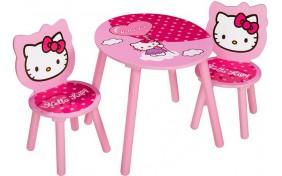 Стол и 2 стульчика Hello Kitty Eichhorn