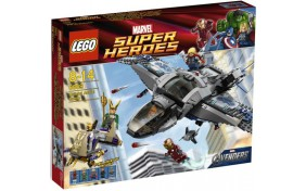 Воздушная битва Lego Super Heroes