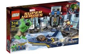 Появление Халка Lego Super Heroes