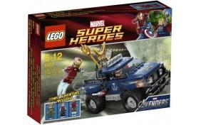 Побег Локи с космического куба Lego Super Heroes