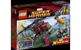 Появление чоппера Росомаха Lego Super Heroes