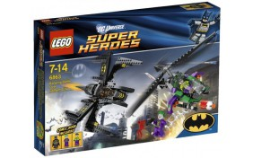 Битва Бэтмена над Готемом Lego Super Heroes