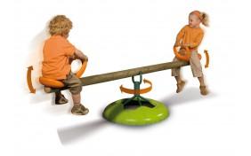 """Качели деревянные """"Держи равновесие"""" Smoby"""