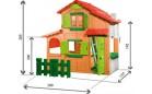 Двухэтажный домик Smoby