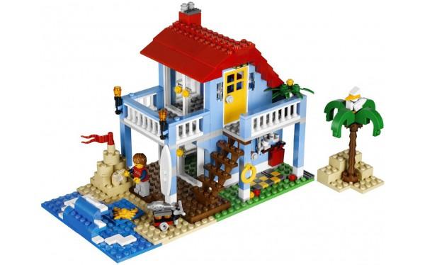 Как построить дом из лего своими руками