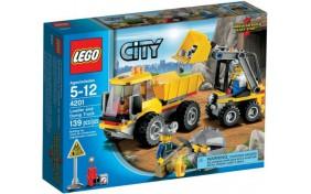 Погрузчик и самосвал Lego City