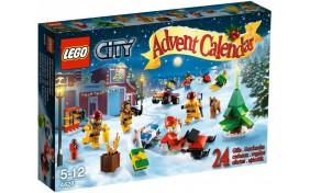 Рождественский календарь Lego City