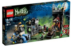 Сумасшедший учёный и его монстр Lego Monster Fighters