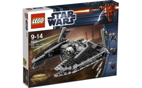 """Перехватчик класса """"Фурия"""" Ситха Lego Star Wars"""