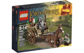 Приезд Гендальфа Lego Lord of the Rings