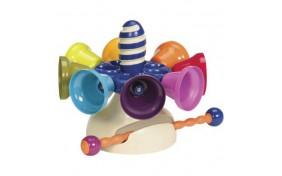 """Музыкальная игрушка """"Цветные колокольчики"""" Battat"""