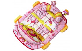 """Развивающий коврик для выкладывания на животик """"Розовый"""" KIDS II"""