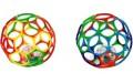 Мячик с погремушкой в средине OBall KIDS II - 14 см
