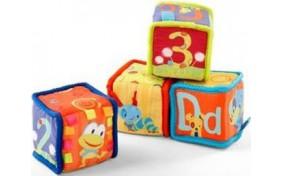 Развивающие мягкие кубики KIDS II