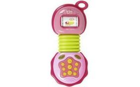 Мобильный музыкальный телефон - розовый KIDS II