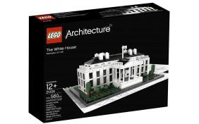 Белый дом Lego Architecture