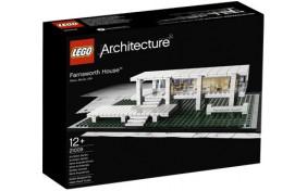 Фарнсворт хаус Lego Architecture