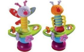 """Игрушка на присоске """"Цветочная карусель"""" Taf Toys"""