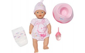 "Кукла My little Baby Born ""Учимся ходить на горшок"" Zapf"