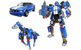 Робот-трансформер V-CREATE - Ford Mustang FR500C - 1:24