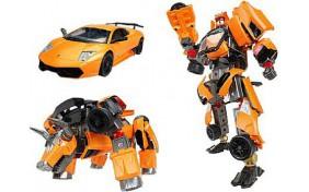 Робот-трансформер V-CREATE - Lamborghini LP670-4SV - 1:24