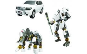 Робот-трансформер V-CREATE - Toyota Land Cruiser - 1:32